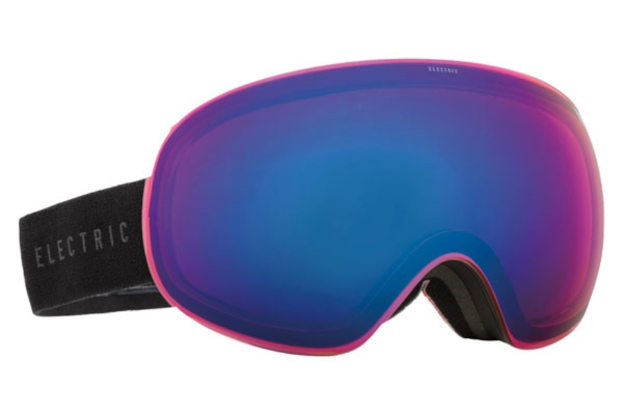 Electric EG3 Goggles in EG1215300 Tiedye Red /Rose/Blue Chrome