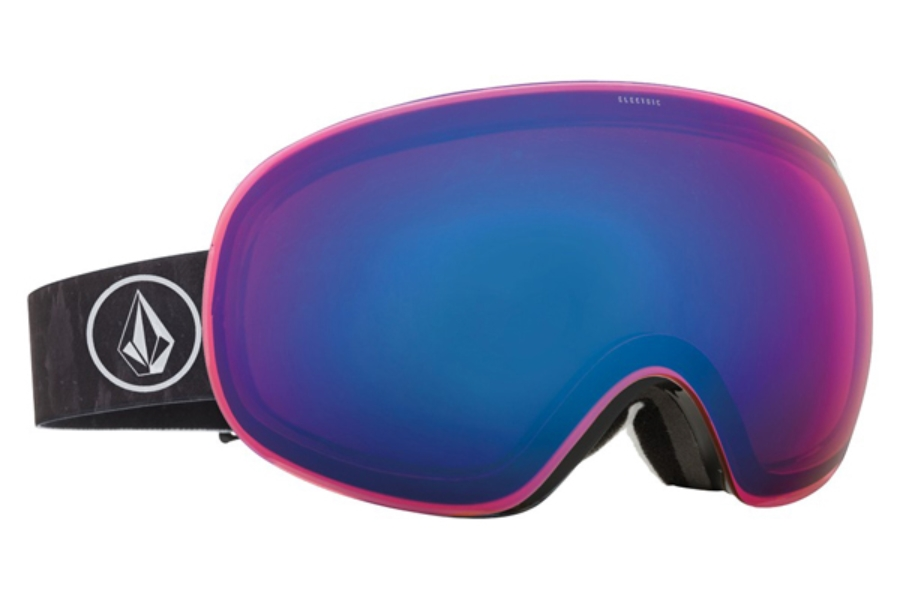 Electric EG3 Goggles in EG1215402 Volcom Co-Lab / Rose Blue Chrome (Discontinued)