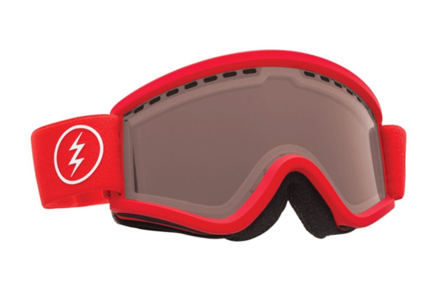 Electric EGV.K Goggles in EG1916206 Red w/ Brose