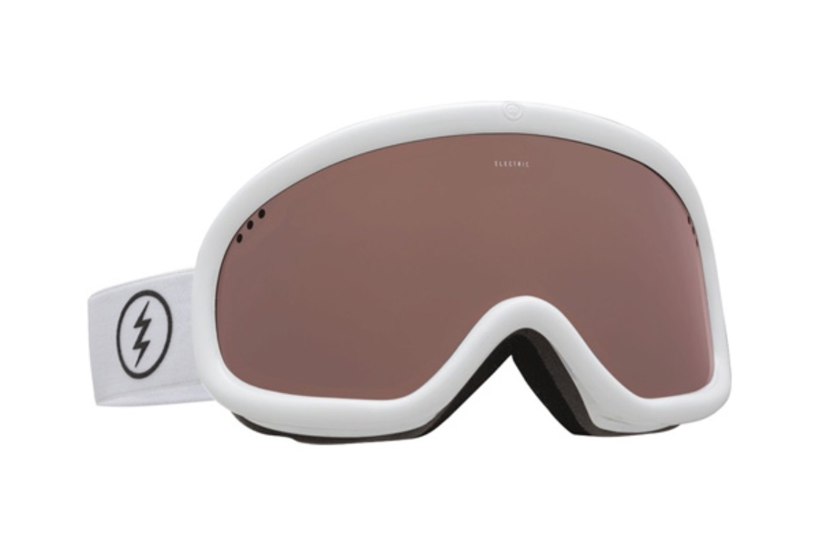 Electric Charger Goggles in EG2116106 Gloss White w/ Brose