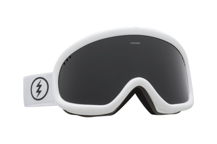 Electric Charger Goggles in EG2116106 Gloss White w/ Jet Black