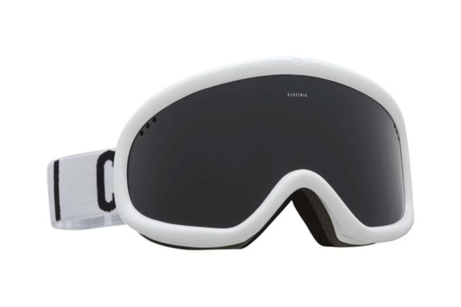 Electric Charger Goggles in EG2116108 Gloss White|Wordmark w/ Jet Black