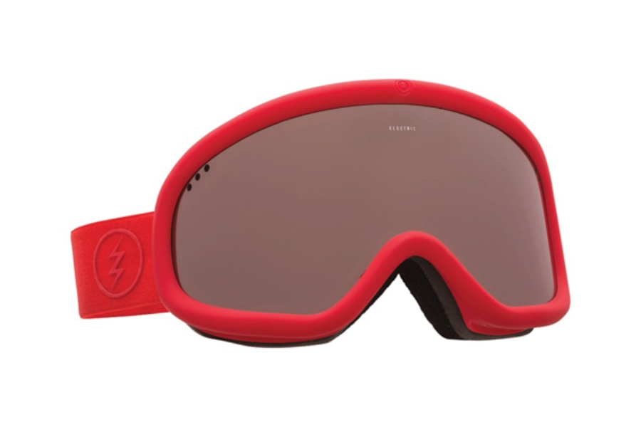 Electric Charger Goggles in EG2116206 Red w/ Brose