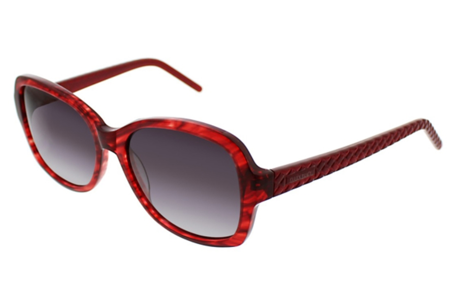 Ellen Tracy Veria Sunglasses in Red Horn