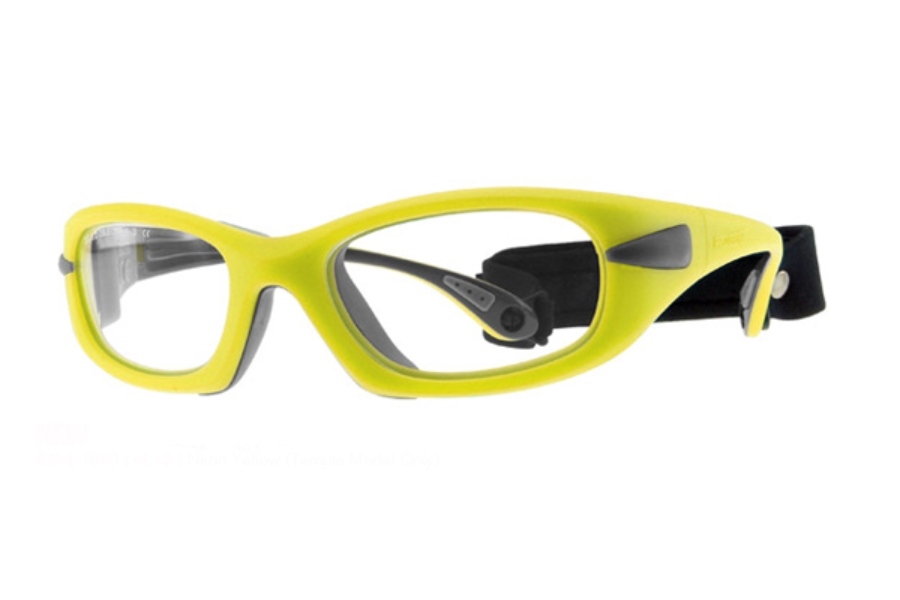 Progear Eyeguard EG-L 1030 Goggles in Neon Yellow (Temple Model Only)