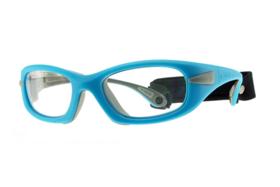 Progear Eyeguard EG-M 1020 Goggles in Neon Blue (Temple Model Only)