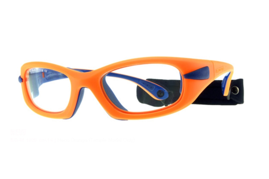 Progear Eyeguard EG-M 1020 Goggles in Neon Orange (Temple Model Only)