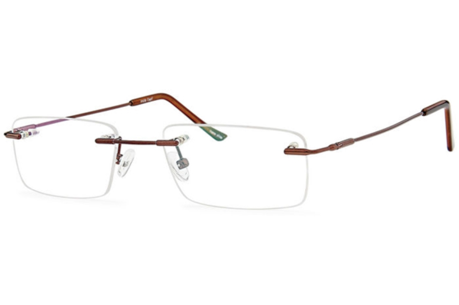 Flexure FX-26 Eyeglasses in Coffee