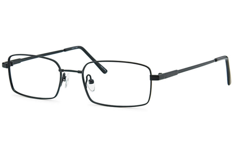 Flexure FX-28 Eyeglasses in Black