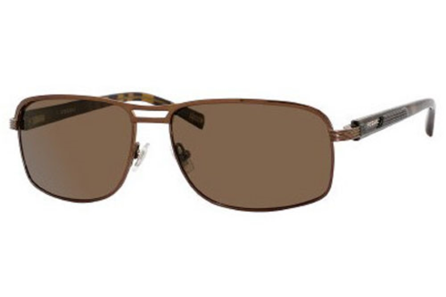 Fossil MARIO/S Sunglasses in C3KP Bronze (VW brown polarized lens)