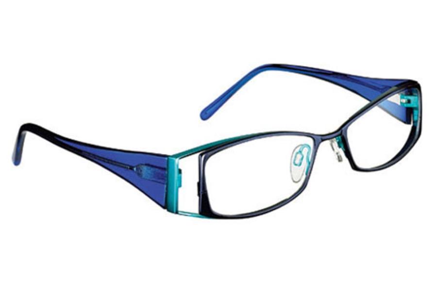 eace75197b FYSH UK Collection FYSH 3301 Eyeglasses in 894 Ocean Blue ...