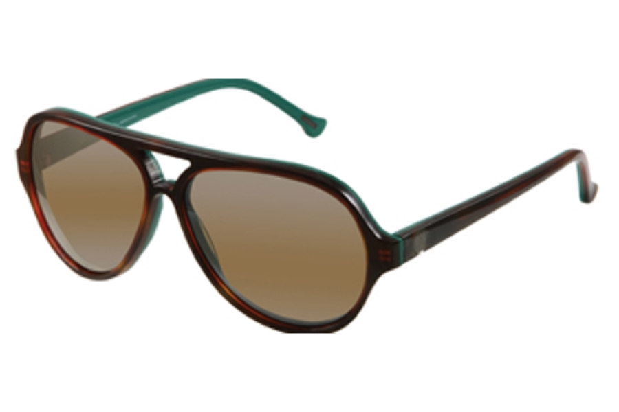 Gant GS MB LAX Sunglasses in TO-94F: TORT OVER GRN