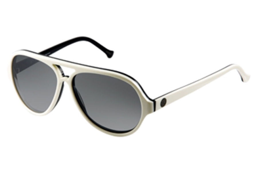 Gant GS MB LAX Sunglasses in WHT-95F: WHT OVER NV