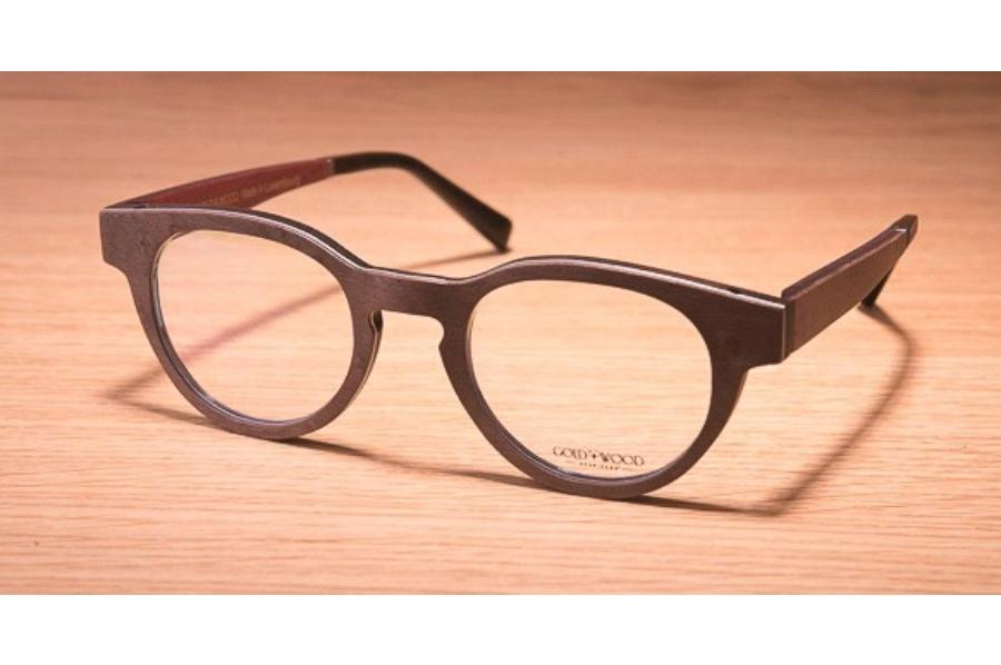 cf74549cb286 Gold   Wood Sirius Eyeglasses in 04 Brown maple   Aluminium   Burgundy ...
