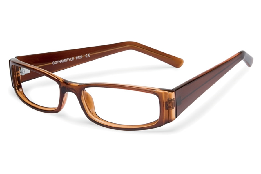 Gothamstyle Gothamstyle 122 Eyeglasses in Brown Laminate