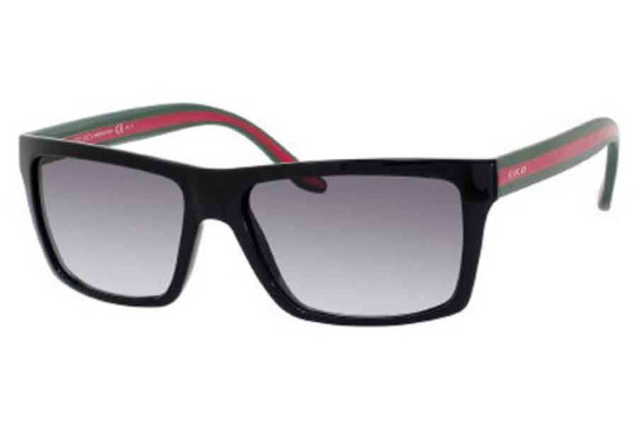 7fb7bc6fa83 ... Gucci 1013 S Sunglasses in 051N Shiny Black (PT gray gradient lens) ...
