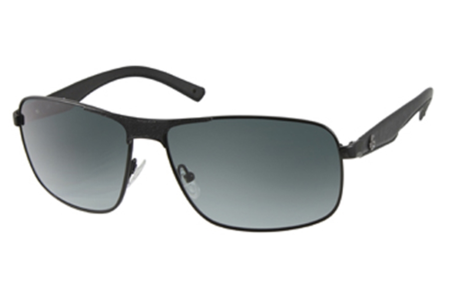 Guess GU 6616 Sunglasses in BLK-35: BLACK