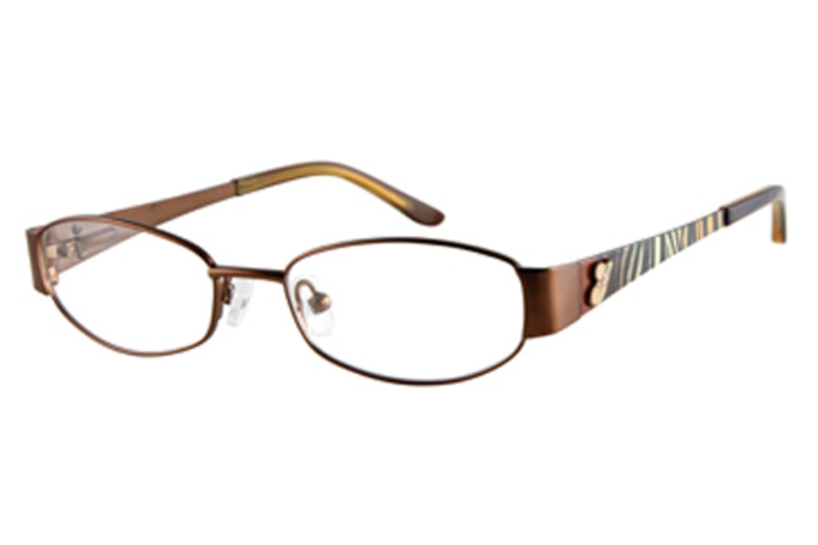 Guess GU 9053 Eyeglasses in SATIN BROWN