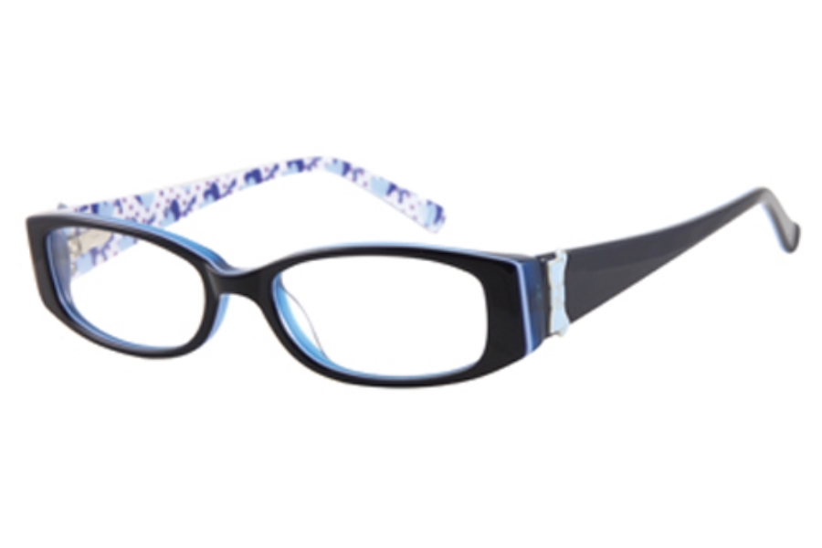 Guess GU 9057 Eyeglasses in BLUE/LT BLUE