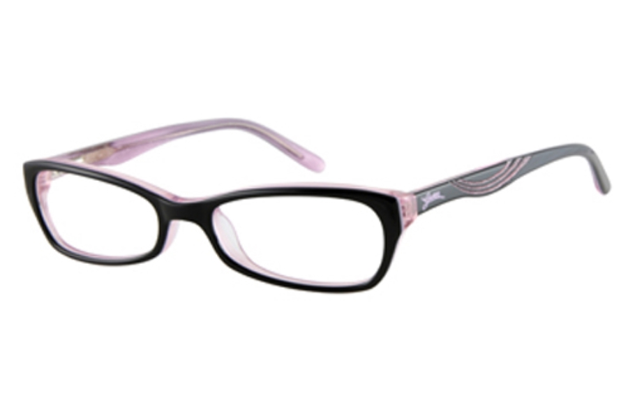 Guess GU 9065 Eyeglasses in BLACK OVER PINK