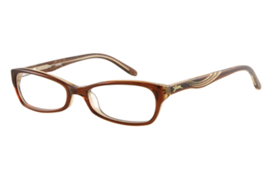 Guess GU 9065 Eyeglasses in BROWN CRYSTAL