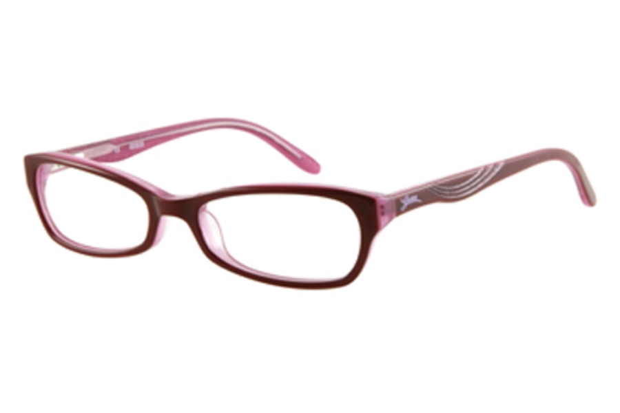 Guess GU 9065 Eyeglasses in PINK OVER PINK