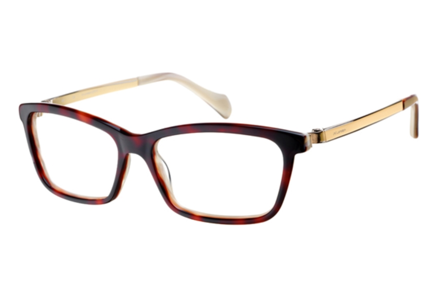 J K London Conduit Street Eyeglasses in 5189 Tortoiseshell / Gold