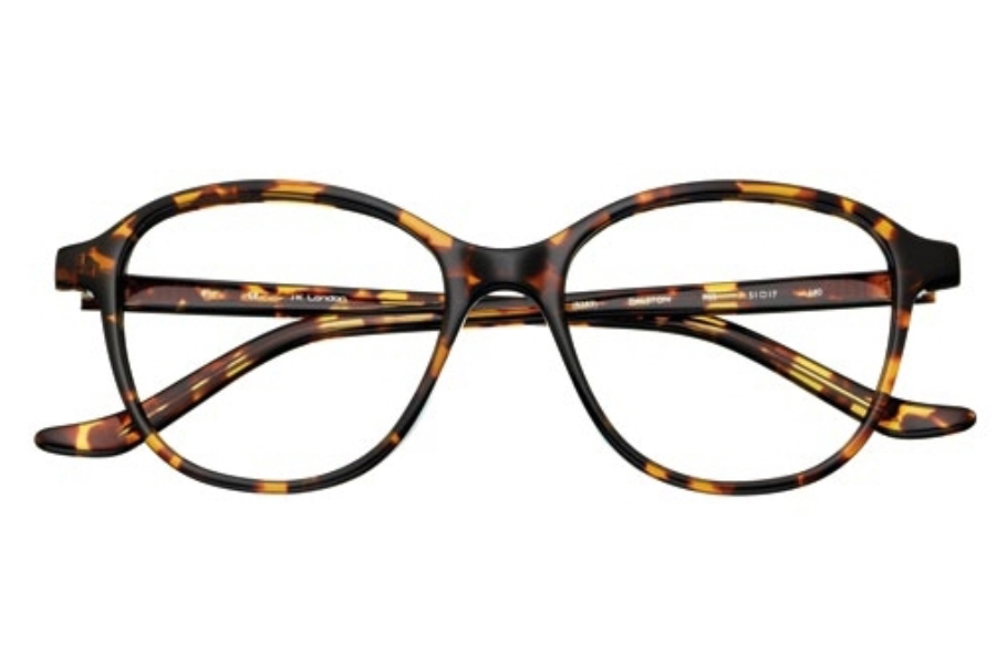 J K London Dalston Eyeglasses in 8383 Tortoiseshell