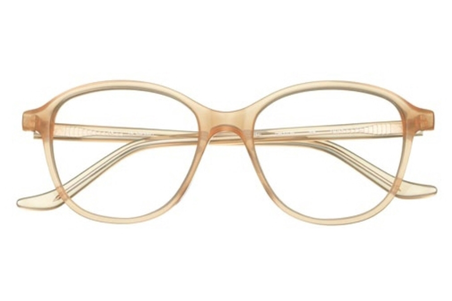 J K London Dalston Eyeglasses in 8384 Peach