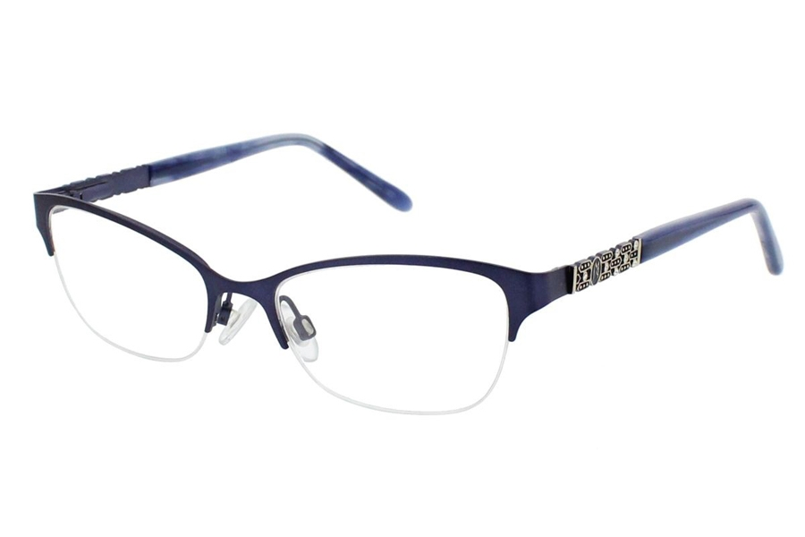 Jessica McClintock JMC 4037 Eyeglasses in Blue