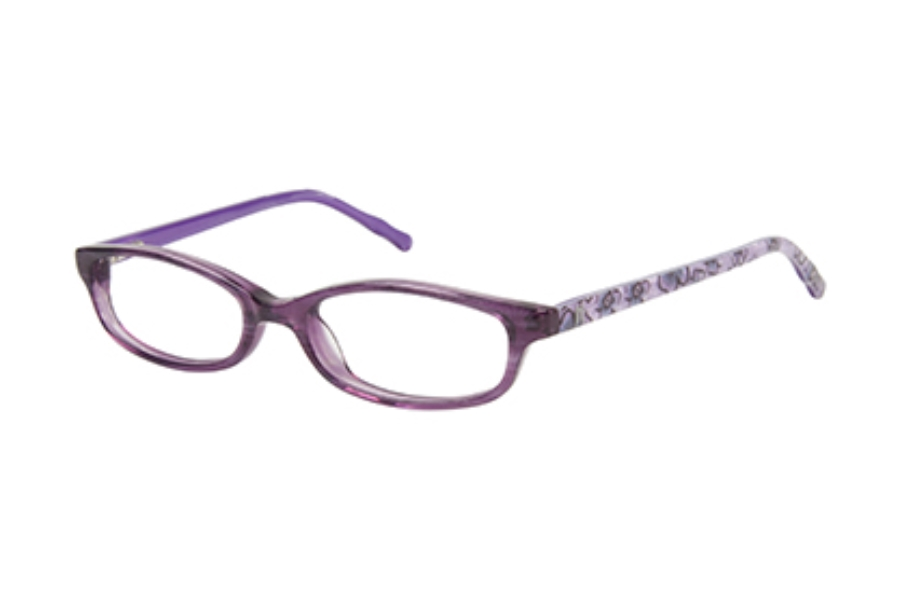Jessica McClintock for Girls JMC 427 Eyeglasses in Purple Horn