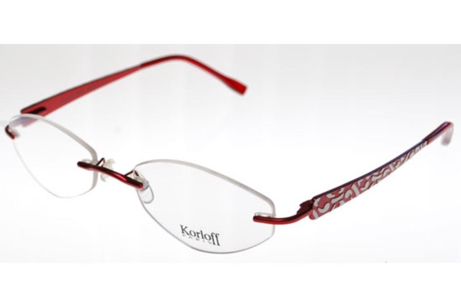 Korloff Paris K021 Eyeglasses in K021-016 Varn Currant Satin