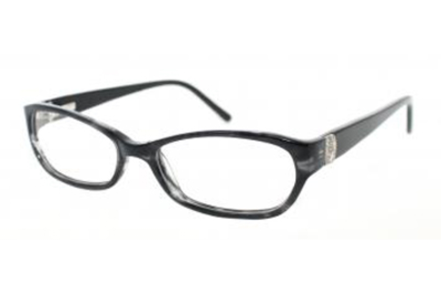 Kay Unger K147 Eyeglasses in BLK Black