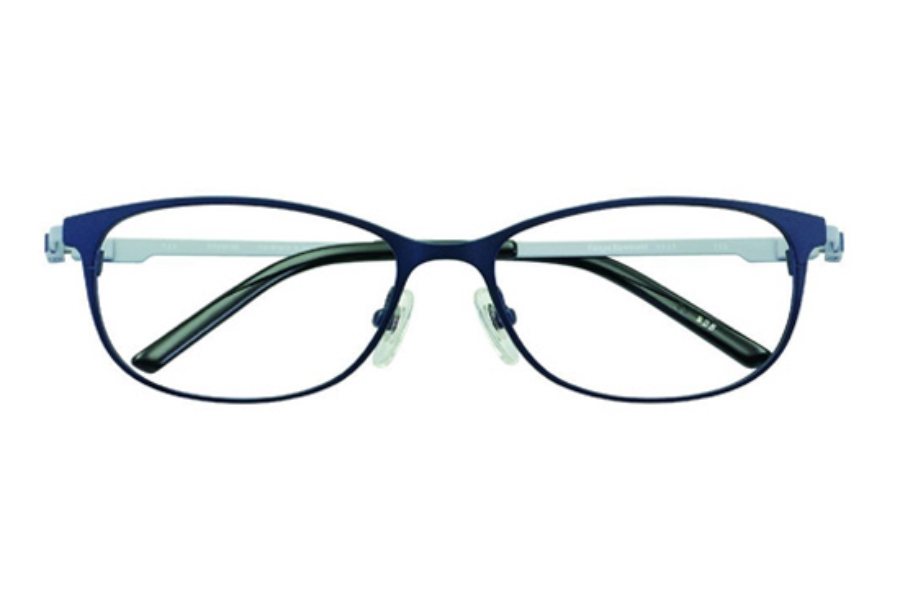 Kazuo Kawasaki MP 3308 Titanium Eyeglasses in 25 Navy