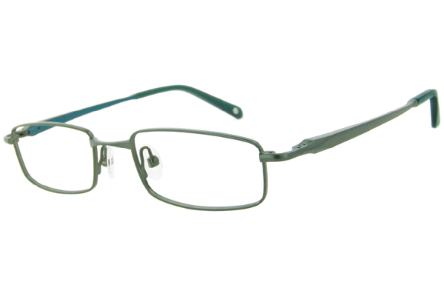 Kids Central KC1313 Eyeglasses in C-2 Olive/Teal