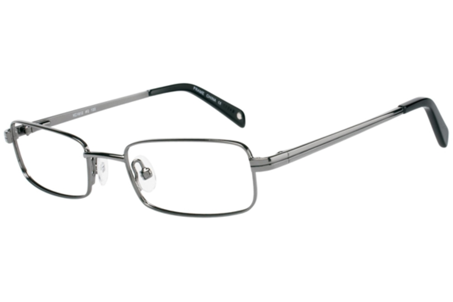 Kids Central KC1612 Eyeglasses in C-2 Shiny Gunmetal