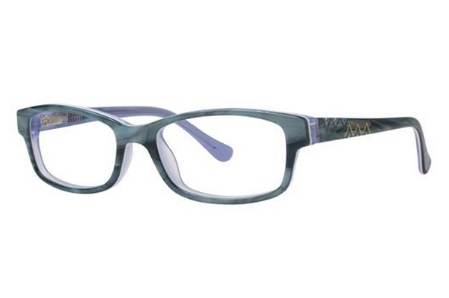 Kensie Girl Brave Eyeglasses in Green