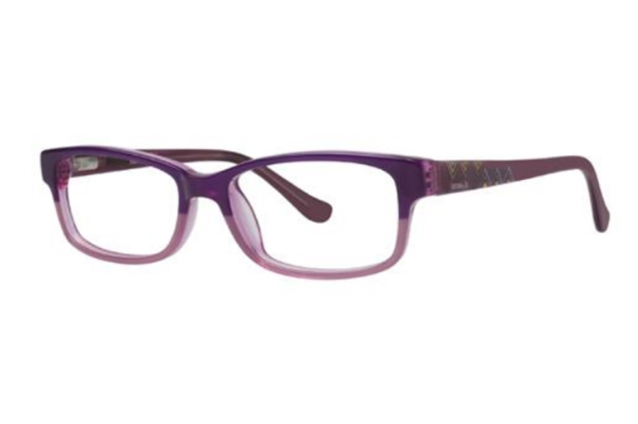 Kensie Girl Brave Eyeglasses in Purple
