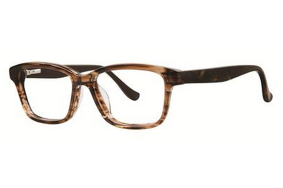 Kensie Girl Bold Eyeglasses in Honey