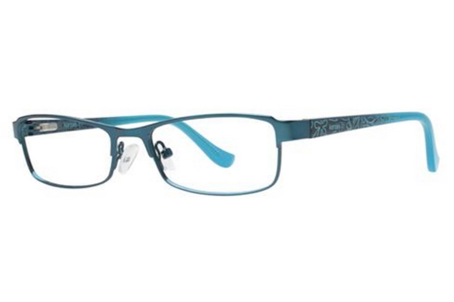 Kensie Girl Bright Eyeglasses in Teal