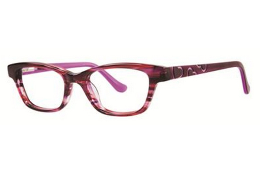 Kensie Girl Dancing Eyeglasses in Magenta
