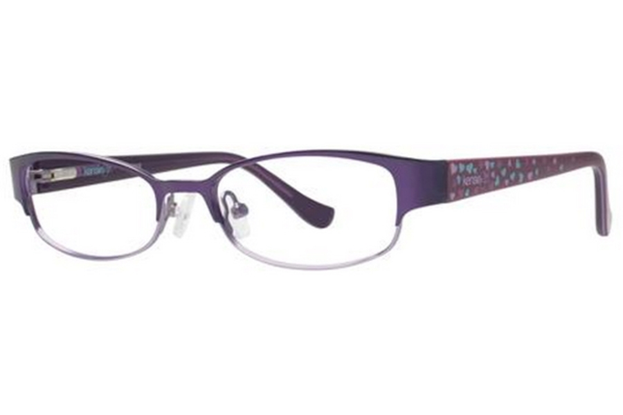 Kensie Girl Darling Eyeglasses in Plum