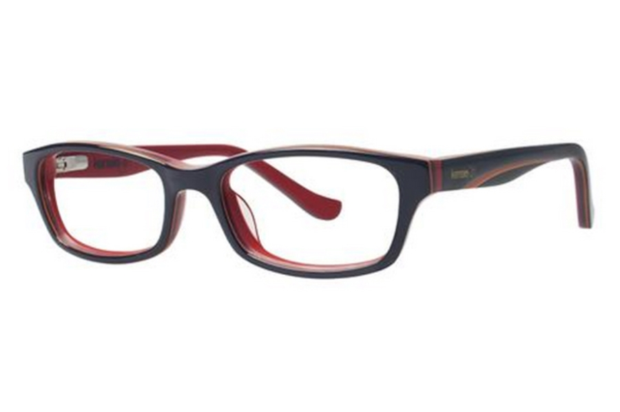 Kensie Girl Dreamer Eyeglasses in Navy