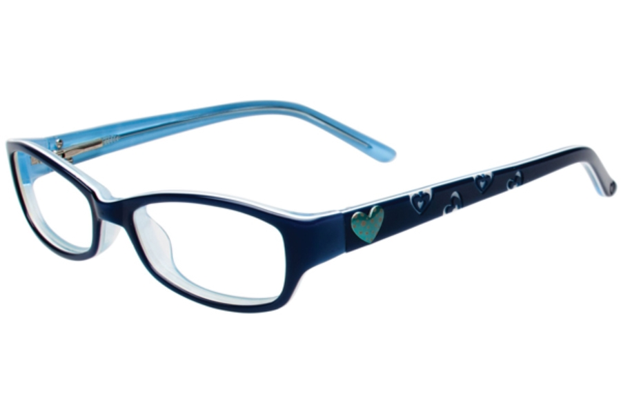 Kids Central KC1643 Eyeglasses in C-3 Blueberry