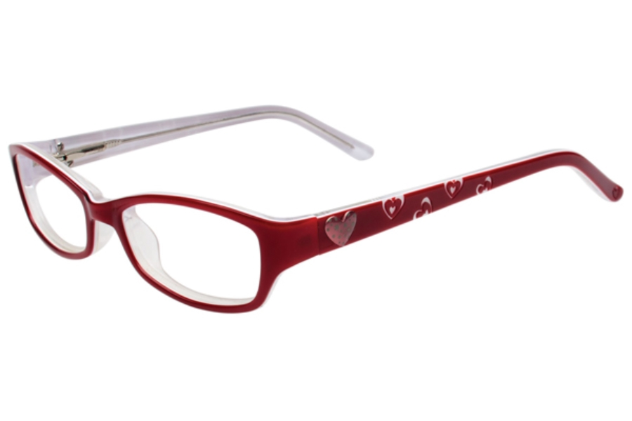 Kids Central KC1643 Eyeglasses in C-2 Candy Apple