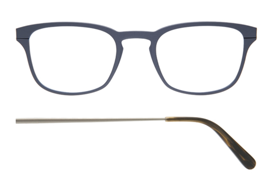 Kilsgaard 61 (Aluminium Temple) Eyeglasses in 61.12 Acetate Titan (Discontinued)