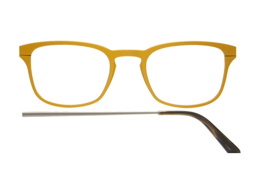 Kilsgaard 61 (Aluminium Temple) Eyeglasses in 61.5 Acetate Gold (Discontinued)
