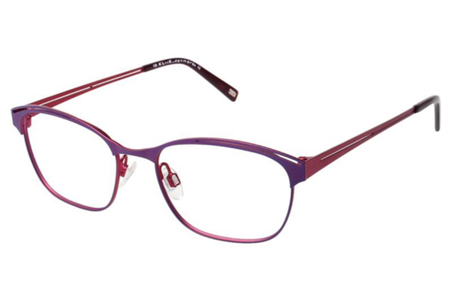 Kliik KLiiK 513 Eyeglasses in 545 Purple / Red