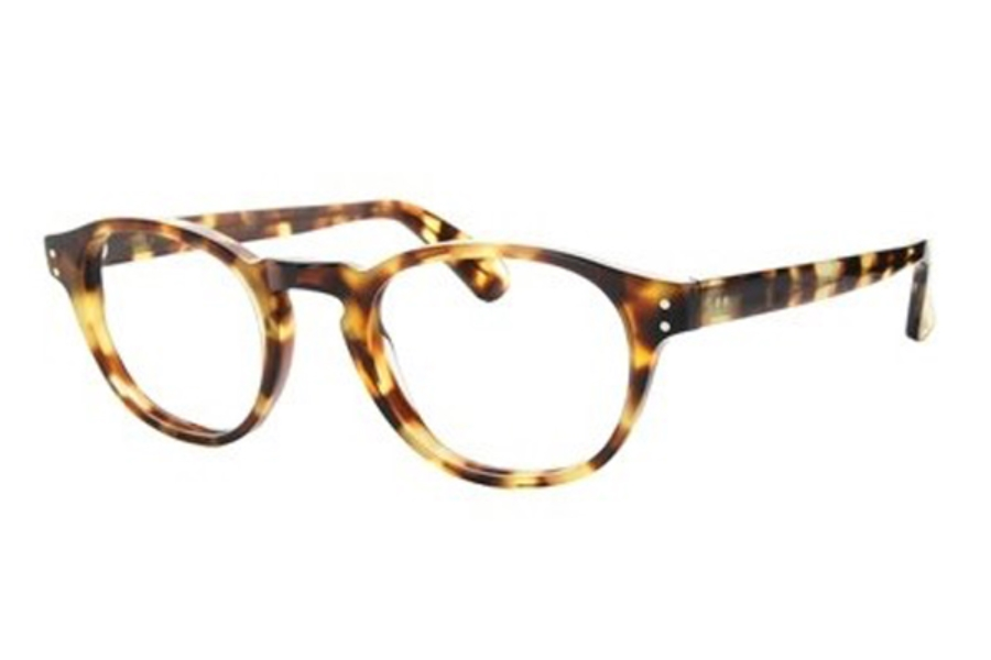 Lafont Reedition Recamier Eyeglasses in 532 Tortoise