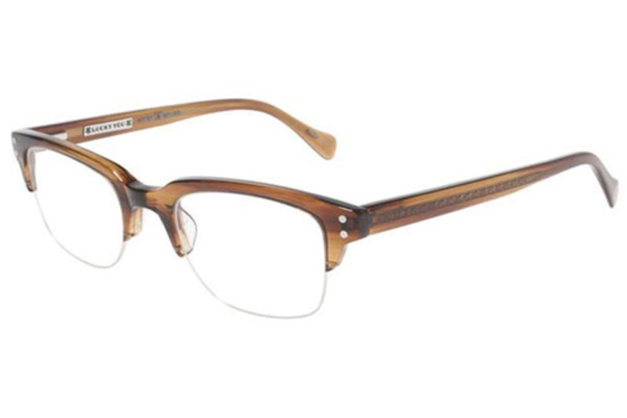 8c70c03fa029 ... Lucky Brand Valencia Eyeglasses in Brown ...